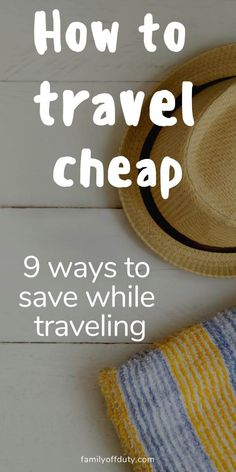 If you want to travel the world but the budget is tight, then check this post to find out 9 different ways to travel cheap and save money while traveling. Travel Money, Budget Travel, Travel Tips, Cheap Vacation Destinations, Vacations, Vacation Ideas, Travel Alerts, Money Saving Tips, Money Tips