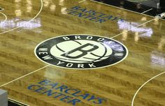 Brooklyn Nets Unveil Herringbone Basketball Court