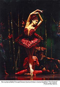 Arantxa Ochoa in the Firebird, by James Kudelka.
