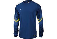Nike Goleiro Goalkeeper Jersey - Royal and Volt