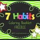 This freebie download helps younger students remember the 7 habits.  Each coloring page includes one habit and a picture demonstrating the habit.  ...