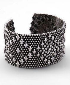Silver Cuff #zulily #zulilyfinds