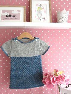 Vallepodi kjole/tunika - str. 1-2 år