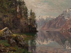 The Fantastic Art of Painter Peder Mork Monsted