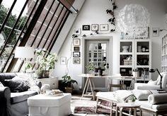 Bei Umbau: Atelierfenster bringen Licht - Die 15 besten Wohntipps für Räume mit Dachschrägen 13 - [SCHÖNER WOHNEN]