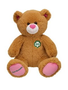 Daisy Girl Scout Troop Bear  Juliette  Girls take turns caring for her.  Petal Activity  Spring Green Petal, Caring and Considerate.  Send her home with a journal.