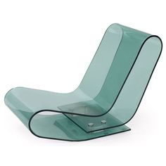 Maarten Van Severen; PMMA Plastic 'LCP' Lounge Chair for Kartell, 2000.