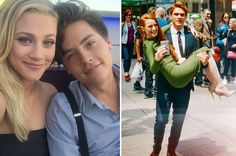 "27 Times The ""Riverdale"" Cast Were Completely Adorable IRL"
