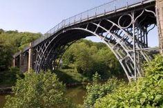 The Iron Bridge, on the route of the South Telford Heritage Trail walk The Iron Bridge, Trek, Britain, Walking, Places, Beautiful, Walks, Hiking, Lugares