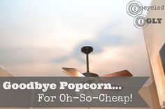 Goodbye Popcorn... For Oh-So-Cheap! - We removed our popcorn ceiling using basic household materials and some elbow grease. Check out our post for full details…