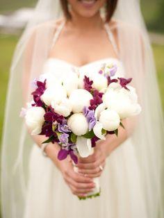 peonies wedding blooms