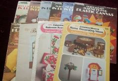 Lot of 10 Plastic Canvas Leaflets