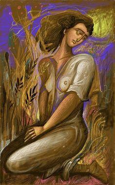 Painter Artist, Artist Art, Greece Painting, Baroque Art, One Step, Byzantine Art, Greek Art, Pastel, Visionary Art