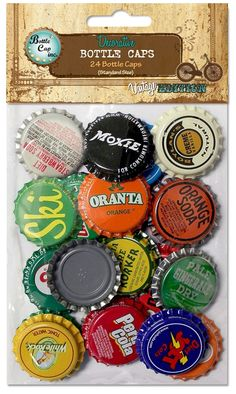 24 Vintage Blend Standard Bottle Caps