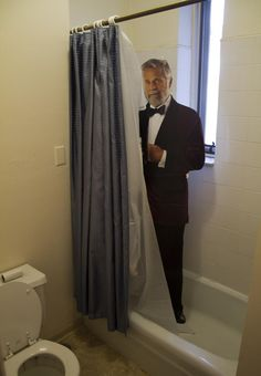 I don't always stand in people's showers, but when I do, I stand in your shower ^crt