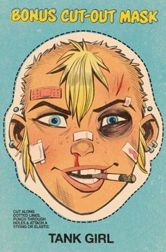 A review in which I try really hard not to swear, but it's Tank Girl and she is awesome and I keep having to bleep myself!