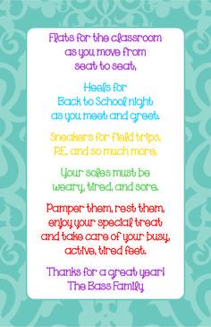 Teacher Appreciation on Pinterest | Teacher Gifts, Teacher ...