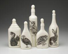 Laura Zindel Design - Set of 5 Bottles: Woodland, $250.00 (http://www.laurazindel.com/set-of-5-bottles-woodland/)