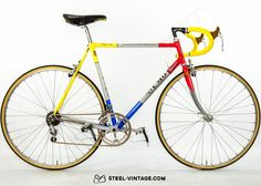 Steel Vintage Bikes - Olmo Leader Classic Bicycle 1980s