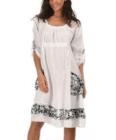 Loving this Light Pink Cristina Linen Dress on #zulily! #zulilyfinds ...