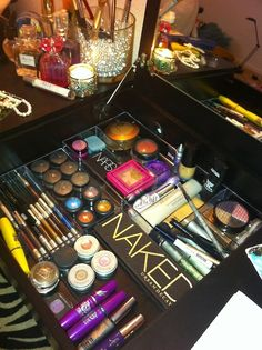 Make up gives me butterflies, and beautiful vanities replace men in my book.