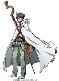 Shiroe | Log Horizon http://anime.about.com/od/Log-Horizon/fl/Log-Horizon-Part-1-Blu-ray-Review.htm