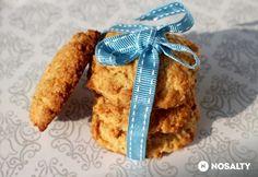 Kókuszos zabkeksz Audrey-tól Gf Recipes, Biscotti, Sweets, Diet, Baking, Breakfast, Cake, Foods, Bakken