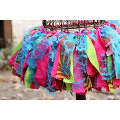 Delias scrap fabric tutu for her Lalaloopsy party!!!