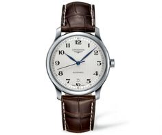 Longines Master Automatic Silver Dial Steel 39mm Men's Strap Watch L2.628.4.78.3 From Berry's Jewellers