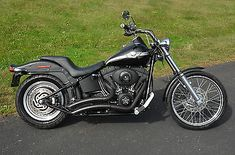 motorcycles-scooters: Harley-Davidson : Softail 2003 harley davidson black 100 th anniversary softail night train fxstbi fxstb #Motorcycles #Scooters - Harley-Davidson : Softail 2003 harley davidson black 100 th anniversary softail night train fxstbi fxstb...