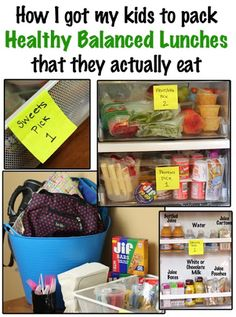 100+ Lunch Box Ideas That Kids Can Pack Themselves - The Kim Six Fix