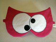 alecrim: máscara de dormir: coruja Crafty Projects, Sewing Projects, Sewing Hacks, Sewing Crafts, Cute Sleep Mask, Baby Bouquet, Bunny Bags, Diy Back To School, General Crafts