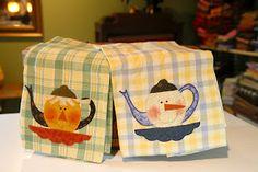 Free teapot appliqué' pattern!