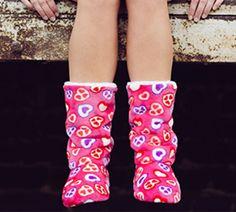 Hausstiefel Lady Boots, rosa pink M (Größe 38-41)