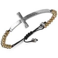lucky brand silver cross bracelet - Google Search