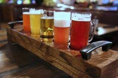 SmithHouse craft beer flight by Caroline on Crack
