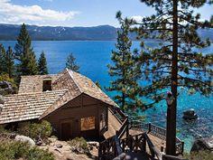 Howard Hughes getaway on Lake Tahoe