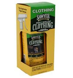 treat your clothing at home before you go. Good for 6 washes or six weeks (which ever comes first). Be careful using it around your cats. I use deet on exposed skin. Bug Control, Pest Control, House Insects, Home Defense, How To Get Rid Of Acne, Insect Repellent, Ticks, First They Came, Things To Know