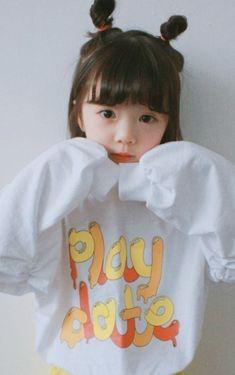 Cute Asian Babies, Korean Babies, Asian Kids, Cute Korean Girl, Cute Baby Girl Pictures, Baby Girl Images, Baby Swag, Cute Little Baby, Little Babies