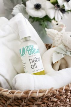 Dwell in Beauty: Zoe Organics Review: Baby Oil