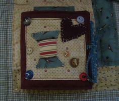 """Weiteres - Nadeletui """"Country Sewing"""" - ein Designerstück von Wilhelmine-Wiesenkraut bei DaWanda"""