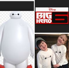 ((BIG HERO 6)) DIY BAYMAX SHIRT! This very easy step by step video showing you how to create a Baymax shirt with the things you already have from home!