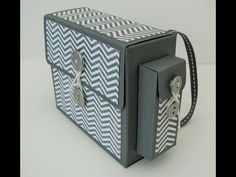 Handbag Inspired Box | Stampin' Up (UK) with Persephone's Papercraft - YouTube