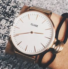 La petite dernière 😍❤ #watch #montre #instagood #instawatch #cluse #style Cluse, Watches, Instagram Posts, Accessories, Style, Watch, Swag, Wristwatches, Clocks