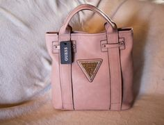 """SALE!!!!  GUESS BAG!!! COLOR: ROSE SIZE:( l x w x h ) 11"""" x 3.5"""" x 11.5""""  ITEM CODE: YFC-B00013  AMOUNT: 2800 pesos only!!!!  FREE SHIPPING........ NO EXTRA CHARGE......."""