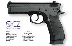CZ 75 SP-01 Tactical 9mm blue Save those thumbs & bucks w/ free shipping on this Smith and wesson M&p Shield magloader I purchased mine http://www.amazon.com/shops/raeind   No more leaving the last round out because it is too hard to get in. And you will load them faster and easier, to maximize your shooting enjoyment.