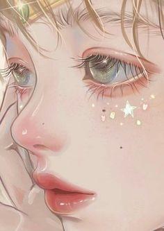 Anime Girl Drawings, Anime Art Girl, Cute Drawings, Anime Angel Girl, Anime Girl Pink, Arte Digital Fantasy, Digital Art Girl, Walpapers Cute, Cute Art