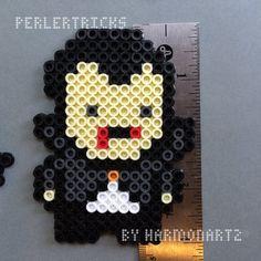 Classic Horror Monsters Perler Bead Magnet by HarmonArt2 on Etsy