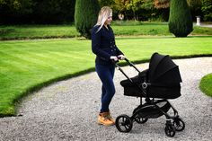 Infababy FLO i-Size Travel System - Midnight Travel System, My Size, Separate, Baby Strollers, Car Seats, Parenting, Stylish, Storage, Children