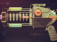 Raygun 52 by Justin Mezzell